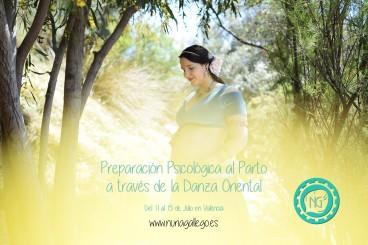 Intensivo Danza Oriental Embarazadas y preparación psicológica al parto